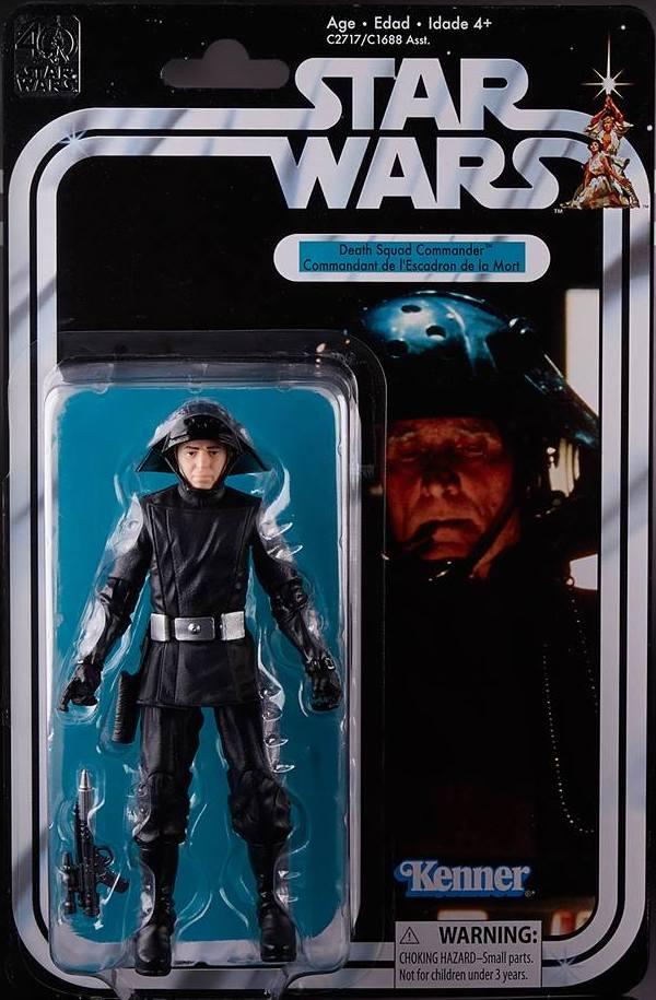 Star Wars - 40th Anniversary Edition  Series Death Star Commander Action Figure