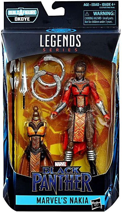 Black Panther - Legends  Series Nakia Action Figure