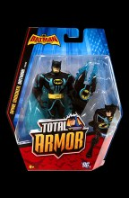 Batman: The Brave and the Bold Total Armor  Series Spine Shocker Batman Action Figure