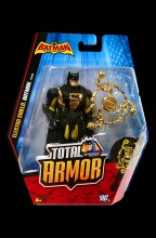 Batman: The Brave and the Bold Total Armor  Series Electro Shield Batman Action Figure