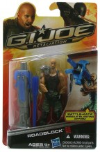 GI Joe Retaliation  Series Roadblock Action Figure