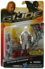 GI Joe Retaliation  Series Storm Shadow Action Figure