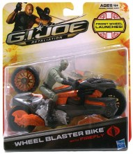 GI Joe Retaliation  Series Wheel Blaster Bike Action Figure