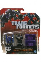 Transformers: Fall of Cybertron  Series Ravage and Rumble Action Figure