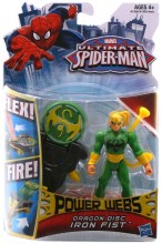 Ultimate Spider-Man: Power Webs  Series 1 - Dragon Fist Iron Fist Action Figure