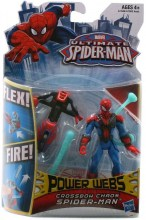 Ultimate Spider-Man: Power Webs  Series 1 - Crossbow Chaos Spider-Man Action Figure