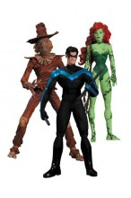 Batman: Hush  Series Poison Ivy - Nightwing - Scarecrow Action Figure