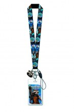Guardians Of The Galaxy  Series Rocket Raccoon Lanyard Collectible