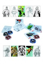 Justice League  Series Starter Poker Set Collectible