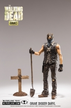 The Walking Dead  Series 9 - Grave Digger Daryl Action Figure
