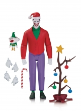 Batman Animated  Series Christmas Joker Action Figure
