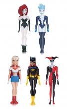 Batman Animated  Series NBA - Girls Night out Pack Action Figure