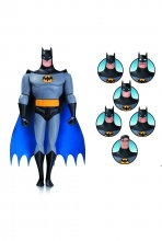 Batman Animated  Series Batman Expressions Pack Action Figure
