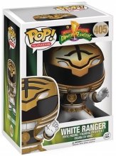 POP: Television  Series MMPR - White Ranger POP Figure