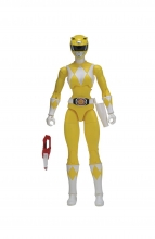 Power Rangers Legacy  Series MMPR - Yellow Ranger Action Figure