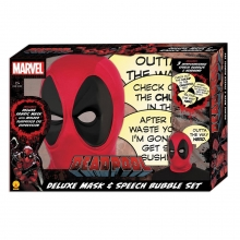 Deadpool  Series Mask and Speech Bubble Prop