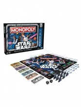 Star Wars - 40th Anniversary Edition  Series Monopoly Collectible