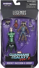 Guardians of the Galaxy (Vol. 2) - Legends  Series Mantis Series - Rocket Action Figure