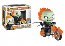 POP - Rides  Series Classic Ghost Rider PX Exclusive Glows POP Figure