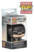 Pocket POP Keychain - DC Comics  Series Justice League Movie - Batman Key Ring