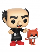 POP - Animation  Series Smurfs - Gargamel with Azrael POP Figure