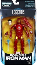 Black Panther - Legends  Series Invincible Iron Man Action Figure