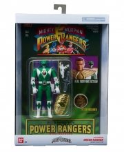 Power Rangers Legacy  Series Auto Morphin Green Ranger Action Figure