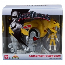 Power Rangers Legacy  Series Sabertooth Tiger Zord Action Figure
