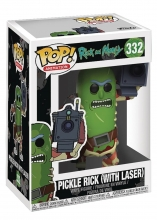 Rick and Morty  Series Pickle Rick with Laser POP Figure