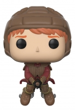 Harry Potter  Series Ron on a Broom POP Figure