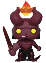 Hellboy  Series Hellboy with Crown POP Figure