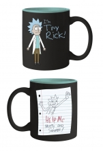Rick and Morty  Series Tiny Rick Mighty Mug