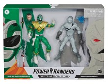Power Rangers Lightning Collection  Series MMPR Green Ranger - Putty Action Figure Duo