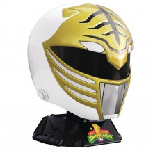 Power Rangers Lightning Collection  Series MMPR White Ranger Helmet Prop