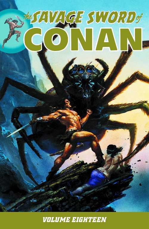 Savage Sword Of Conan  Vol. 18 TP