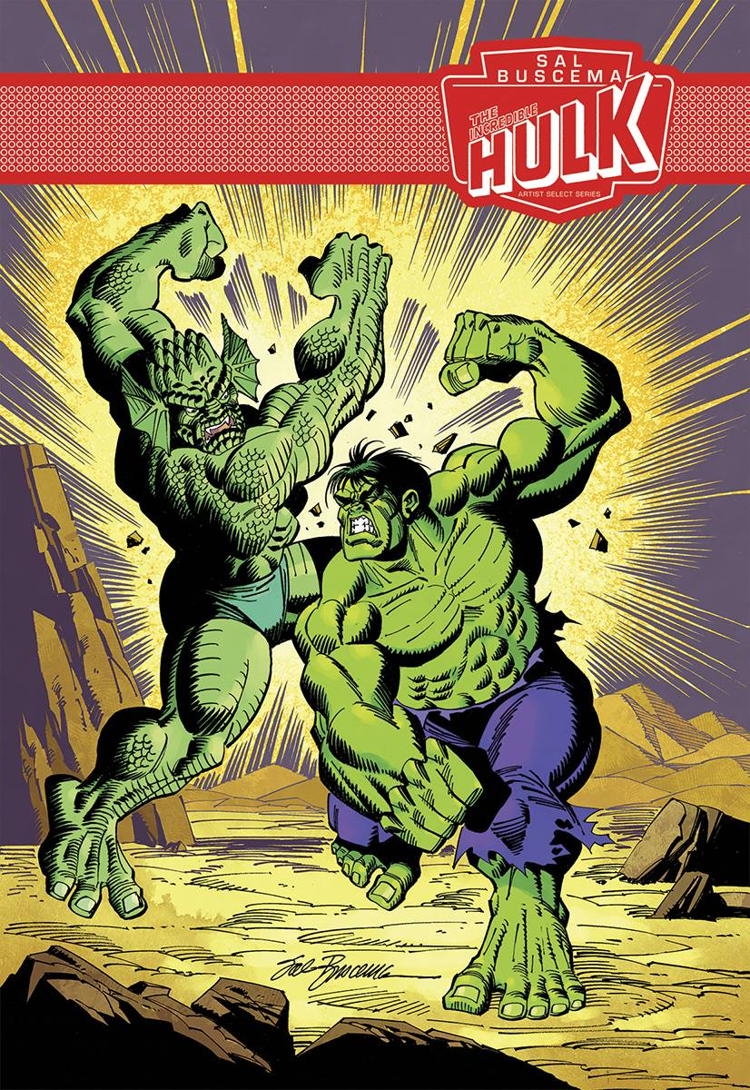 Incredible Hulk - Sal Buscema - Artist Select  Vol.  HC