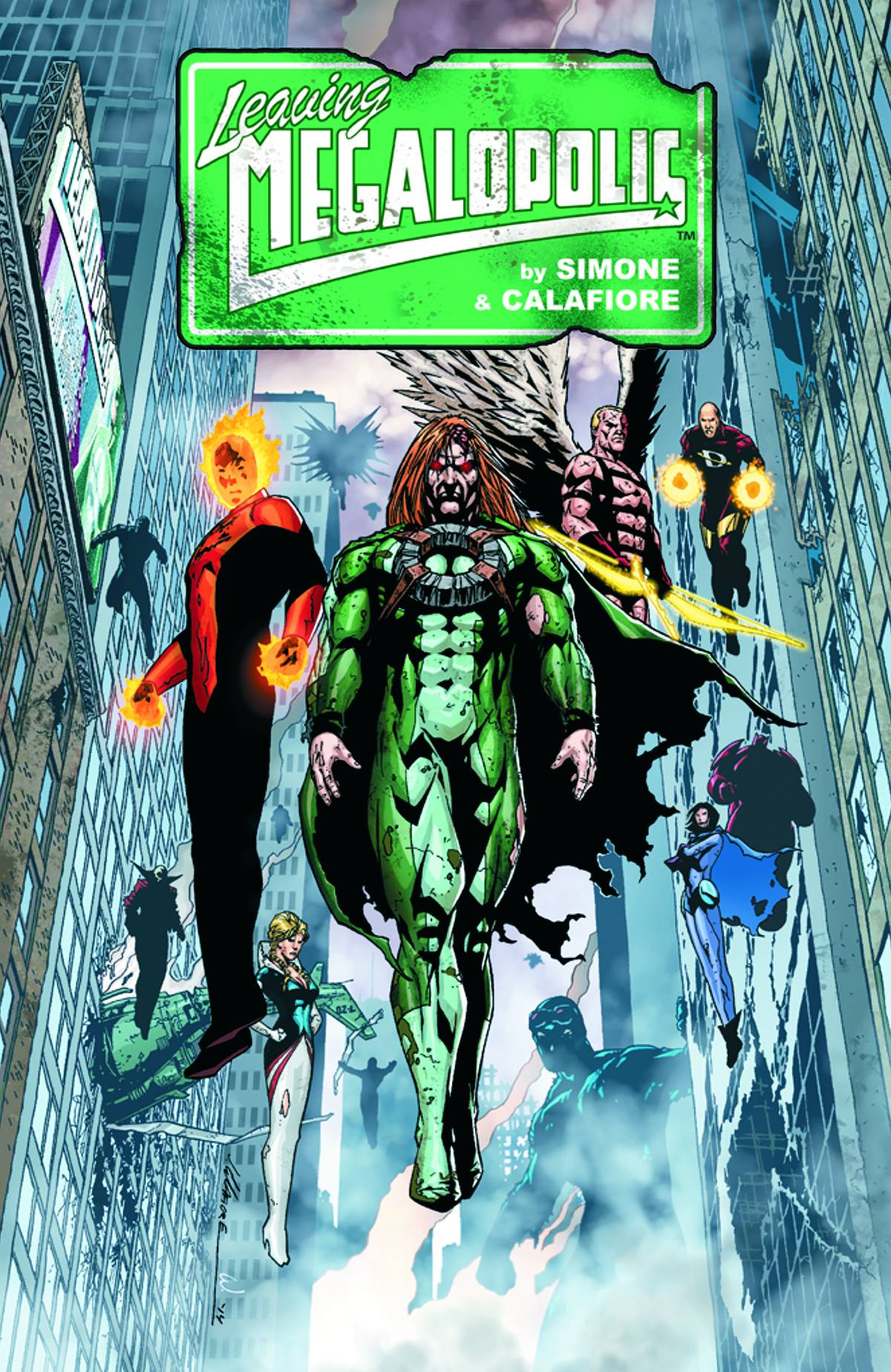 Leaving Megalopolis  Vol.  HC