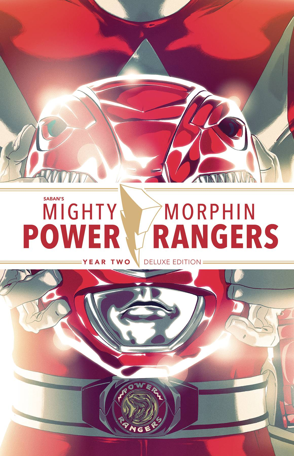 Mighty Morphin Power Rangers  Vol. Year Two DLX HC