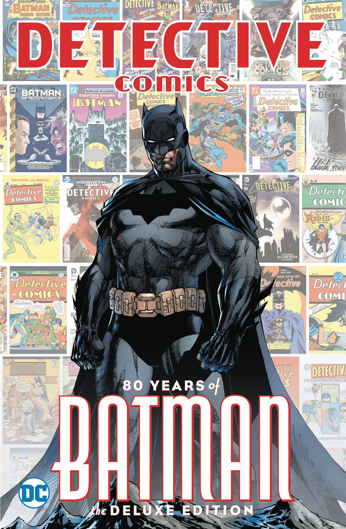 Detective Comics  Vol. 80 Years of Batman DLX HC