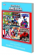 Captain America Official Index To Marvel Universe  Vol.  TP Super Sale
