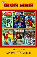Iron Man Official Index to the Marvel Universe  Vol.  TP Super Sale