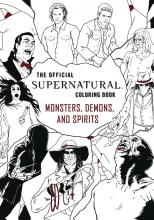 Supernatural  Vol. Coloring Book - Demons and Monsters SC Book